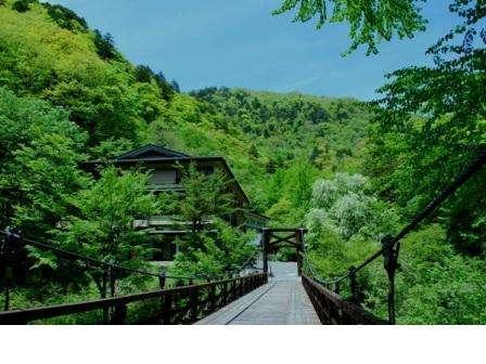 つり橋の宿 山水観 湯川荘