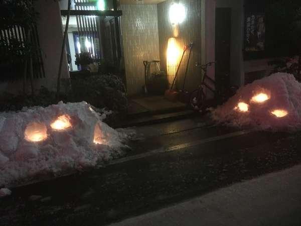 ファミリー旅館 梅岡の外観