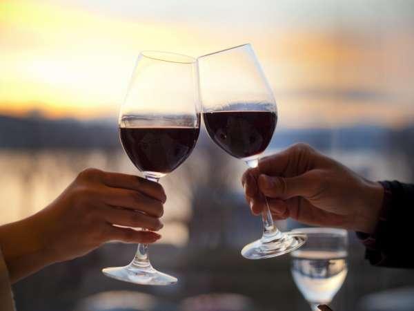 【ご当地自慢】 信州ワイン飲み比べセット付プラン 岩盤浴特典付 ■会席料理17:30