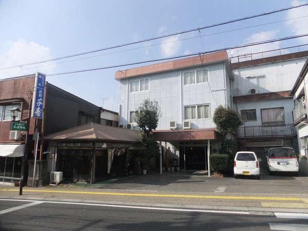 旅館千寿の外観