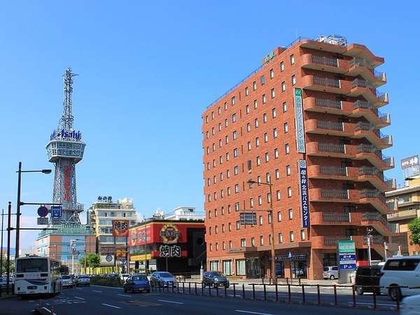 別府の中心北浜の好立地、別府タワーもすぐ近くです。