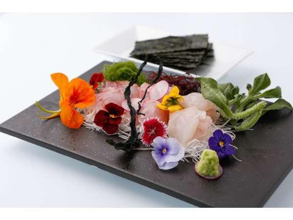 【湯河原じゃらん限定特典付♪】伊豆山の朝採れ野菜を使用した、和を取り入れたお箸で食べられるイタリアン
