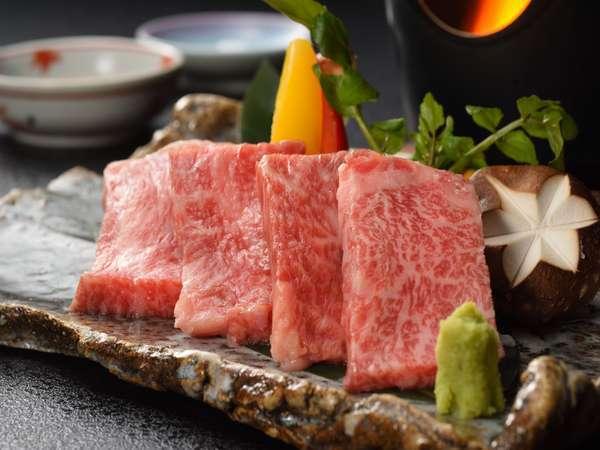 ◆最上級のブランド牛を堪能◆【 特選A5ランク前沢牛プラン 】(1泊2食)  ※陶板焼きorすき焼き