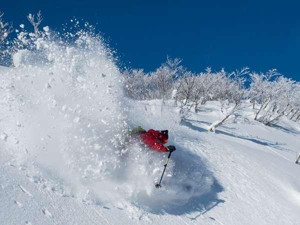 ◆東北屈指のパウダースノー♪ 夏油高原スキー場まで10分◆ 【 1日リフト券付 前沢牛プラン 】
