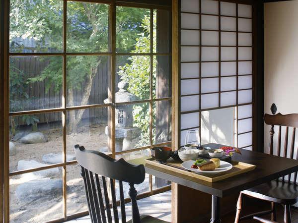 【朝食付】〜地元農家の新鮮食材〜フレンチの技巧を使った、正統派で新しい日本の朝食