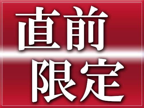 ビジネスマン必見!★サプライズ企画★【超お得! 直前限定 素泊り宿泊プラン】