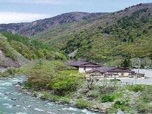 渓流荘しおり絵〜上高地の玄関口・さわんど温泉〜