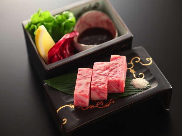 【☆雪景色に最上級☆】A5ランク飛騨牛ステーキプラン