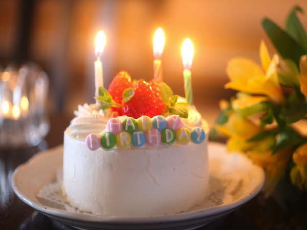 手作りケーキでお祝い〜siorie記念日プラン〜