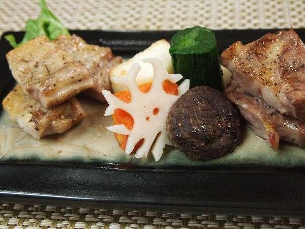 【懐石料理】安曇野ブランド豚プラン