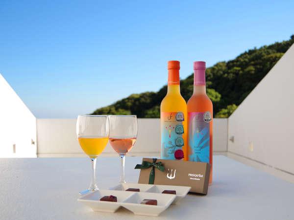 【おとな二人旅】≪ワイン&チョコ≫ 無料特典付 広々テラスで星空ウォッチング