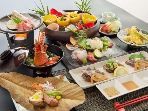 【松】特選 海神コース 土佐和牛≪陶板焼き or すき焼き2種≫ メインを贅沢にアップグレード