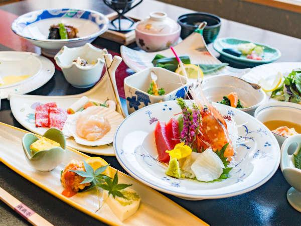 【夕食】料理長快心の会席膳