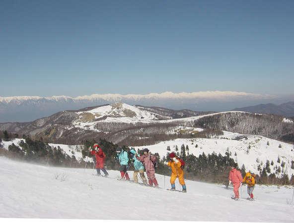 ☆冬の週末限定プラン☆スノーシューガイド付♪冬の美ヶ原高原で素晴らしい感動体験を☆