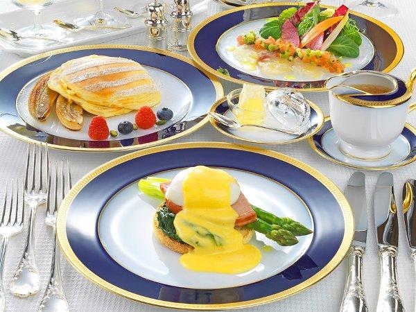 ルームサービス ラグジュアリー朝食付きプラン 〜シャンパン付き朝食で贅沢な一日の始まりを〜