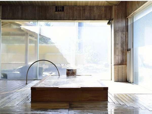 檜風呂 大浴場