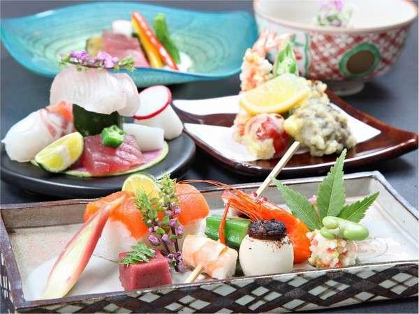 【旬を味わう】 四季と高島を感じる季節の地産会席付 宿泊プラン 夕・朝食付