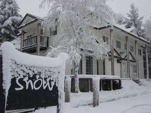 pension snowの外観