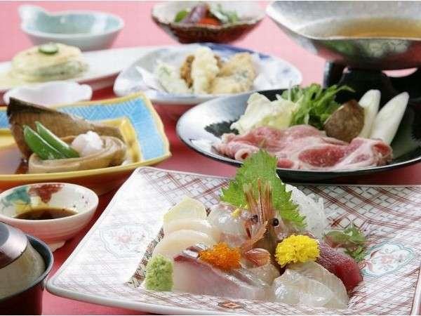 銚子港直送の海の幸と旬の食材のコラボレーションのお献立