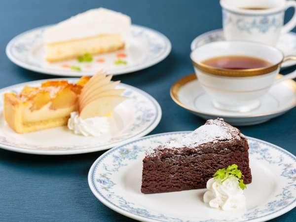 ★3種から選べるケーキセット付★絶景ティータイム/ビュッフェ