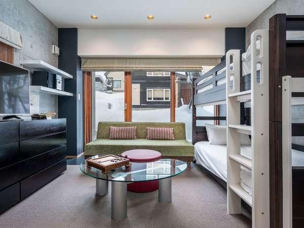 1階ベッドルーム(2段ベッド)