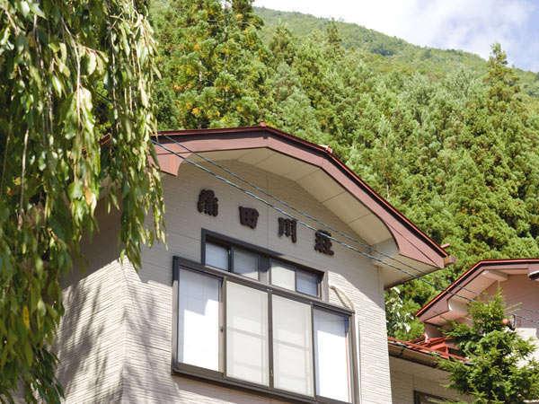 蒲田川荘の外観