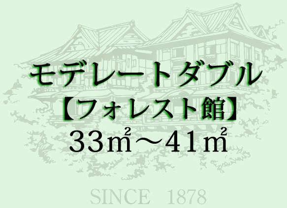 昭和35年建築「フォレスト館」のお部屋です。箱根登山電車と緑を望みます。