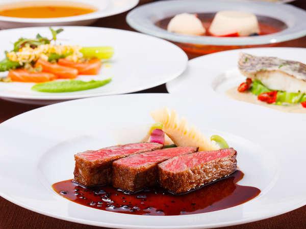 料理長おすすめディナー「セゾン」:3~5月のメニュー