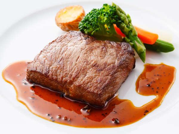 ディナーコース「セゾン」チョイスできるメイン~肉料理~牛サーロインのステーキトリュフソース