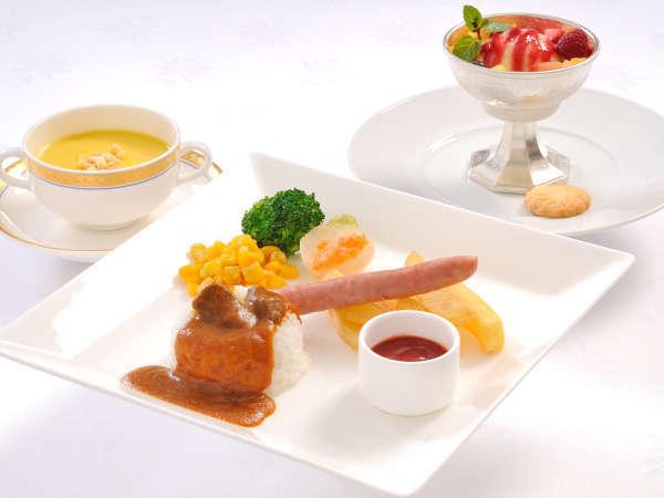 【お子様セット】メインのお料理を1品選択(1500円)又は2品選択(2000円)のセットがございます