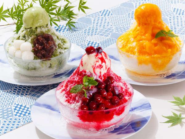 ひんやり美味しい夏のスイーツ♪「富士屋ホテルのかき氷」が登場! ※夏季限定