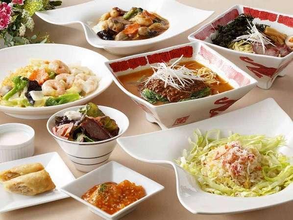【お手軽◆中華】夕食は中華セット&朝食バイキング付き◆温泉付