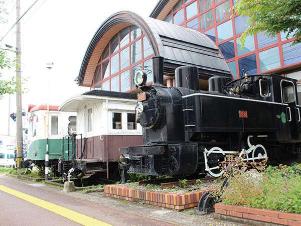 汽車ポッポ食堂と民宿