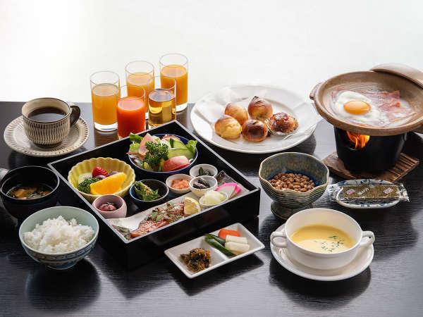 *【別邸朝食】バランスの良い手づくりの和朝食を提供します。