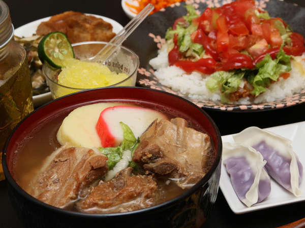 1泊夕食付◆夕食は沖縄に昔から伝わる家庭料理を!仲吉♪