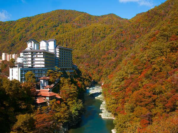 大川荘の外観