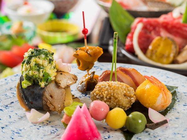 【日本料理】☆料理長おすすめ☆◆まほろば彩り会席◆【前半18:00席】