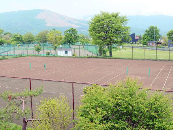 当館のテニスコート★