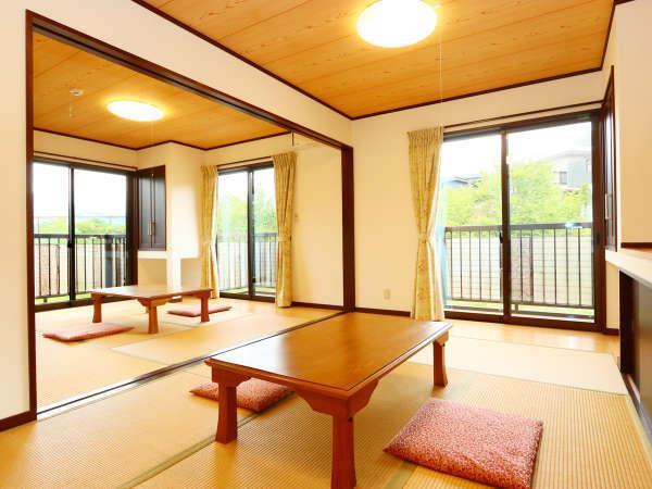 和室6+8畳計14畳の広々別館客室★