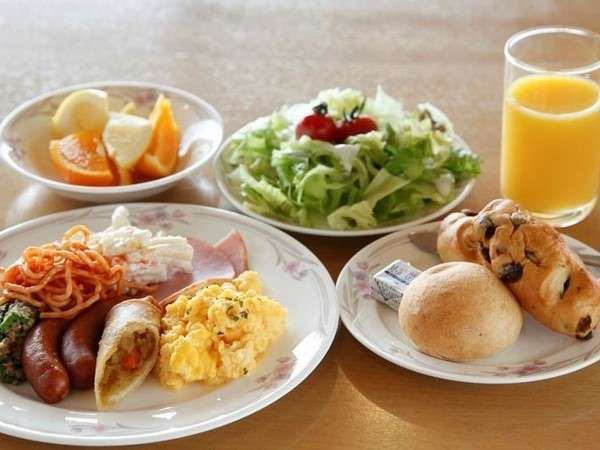 ■朝食バイキング(又は朝定食)【大浴場でのんびり】プラン