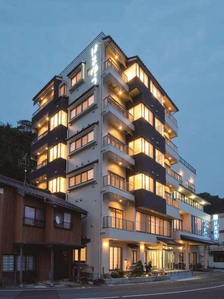 旅館 はまゆう 松石庵の外観