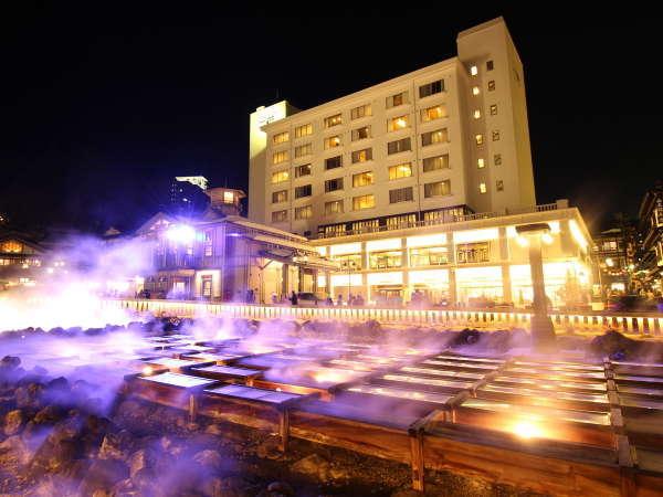 草津温泉 ホテル一井 湯畑の見える部屋がある人気の宿
