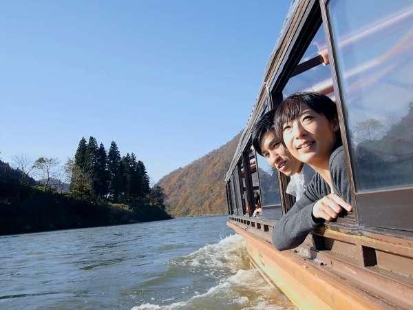 【最上峡舟下りセットプラン】〜最上川の旅情を全て満喫〜約1時間の絶景の舟旅を♪