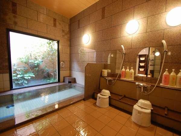 ★男女別大浴場「旅人の湯」は15:00~02:00/05:00~10:00までご利用頂けます。写真は女性風呂