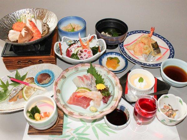 【二食付き】おいしい料理&効能たっぷりとろみの湯で癒しのひと時を