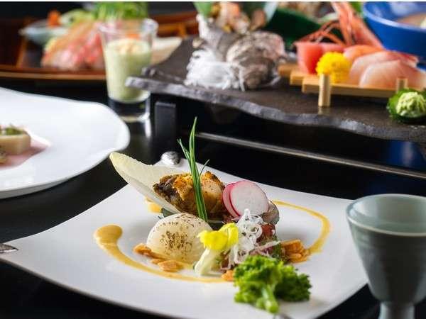 『当館一番人気』伊勢海老&鮑と金目鯛の煮付、金目鯛♪露天貸切風呂付プラン