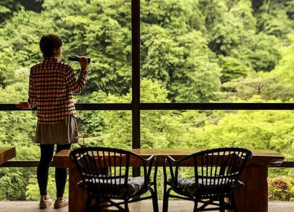 信州高山温泉郷 仙人露天岩風呂と渓谷美の宿 山田温泉 風景館