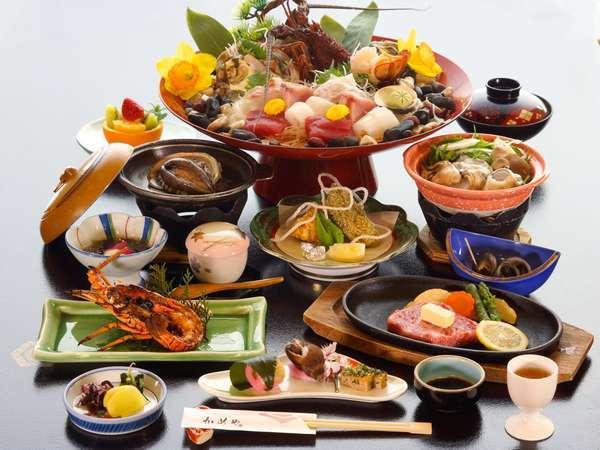 【じゃらん限定】ちょっと贅沢に☆50歳からの四大味覚膳【みえ食旅パスポート付】