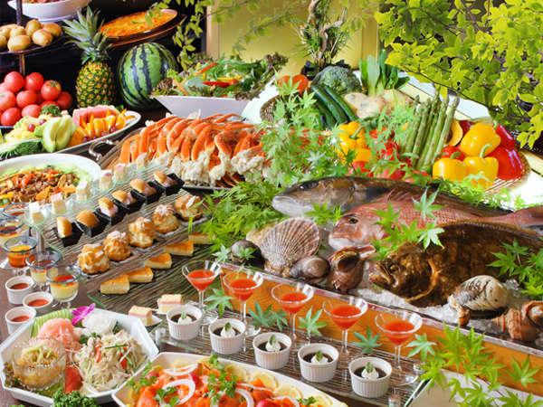 【当館おすすめ】和・洋・中100種の豪華バイキング♪♪焼き立てステーキや揚げたての天ぷらが大好評☆