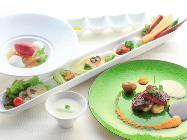 お得に気軽に絶品フレンチを楽しむ!シャキシャキ那須野菜を使用した『ナチュラルフレンチコース』